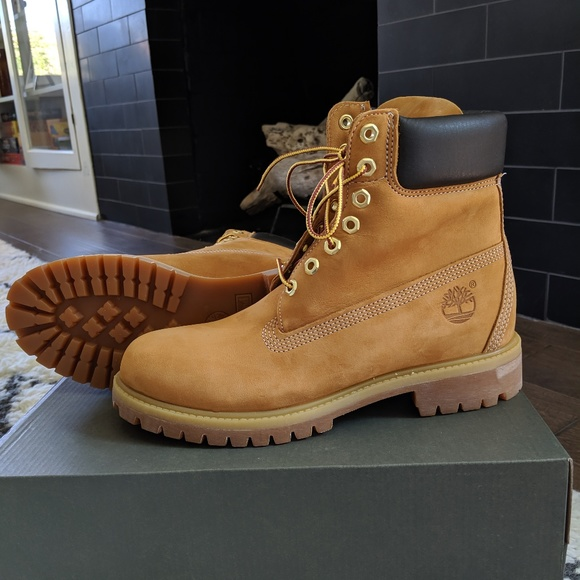 Timberland Original Yellow Boots NWT